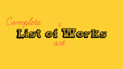 Complete-list-of-art-workds