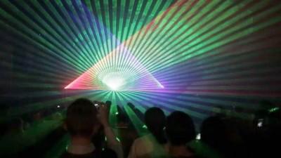 RGB Laser Show by Robin Fox