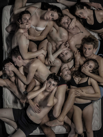 VCA Company 2014 (1st, 2nd & 3rd Year Production Students), UN/clean, directed by Noel Jordan, part of ENUF is Enough* photo Giulio Tami